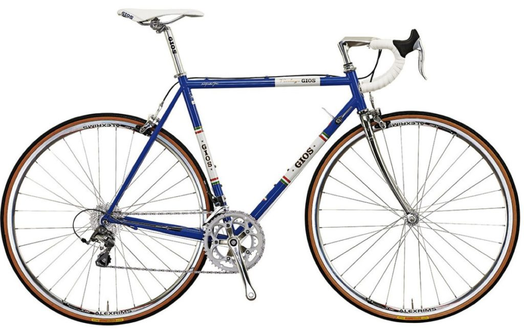 classic Italian steel framed road bike