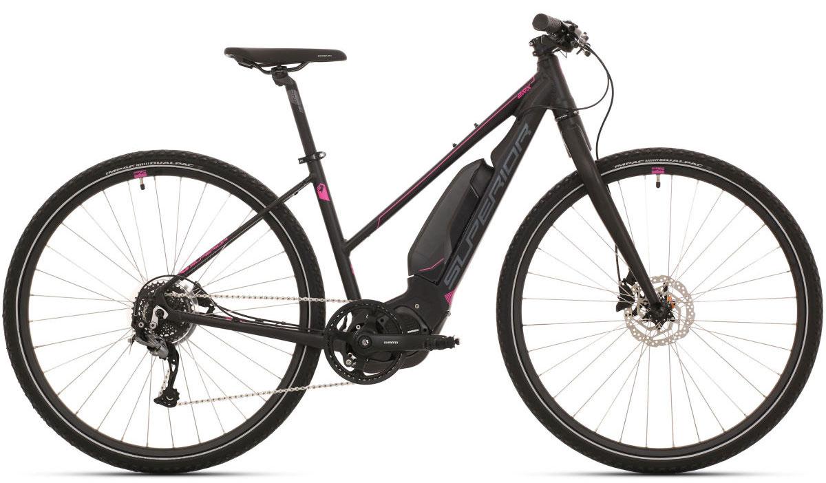 Women's step-through electric bike